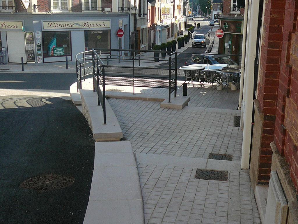 kerbs terrace flagstones SETP Beaumont