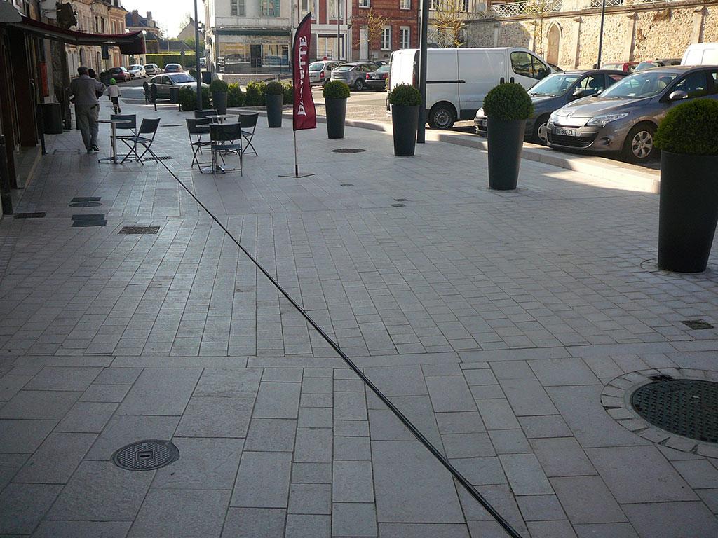 kerbs terrace cobblestones SETP Beaumont le roger 2010