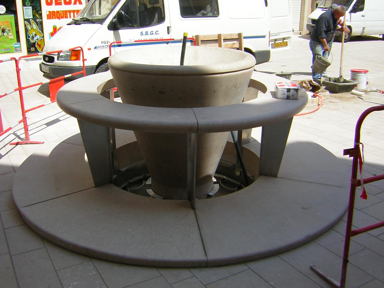 town center mende full fountains SETP comblanchien