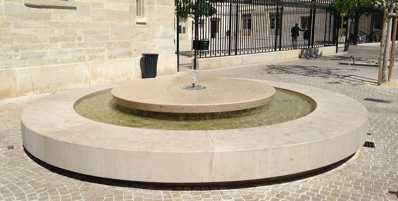 Fountain in Comblanchien