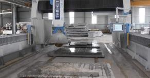 Sawing slabs
