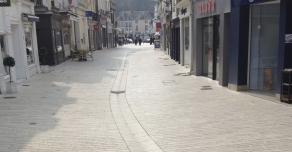 Town cobbles for pedestrian areas in Vendôme